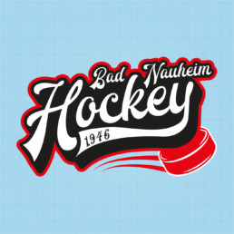 Bad Nauheim Hockey Retro Logo 2