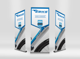 E BIKE Roll-Up Display